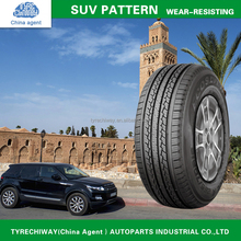 China Top 10 brand CAR/PCR TIRES passenger tyre SUV pattern 235/65R16 With import tyres