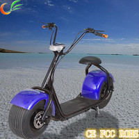Brushless Motor 1000W 60V Adult China Price Big Tire Electric Motorcycle
