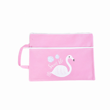 Wholesale New Colorful school handmade canvas pencil bag