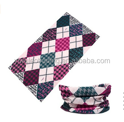 Single Color Outdoor Multifunctional Sports Magic Scarf Tube Seamless Scarf Muffler UV Resistance Headscarves