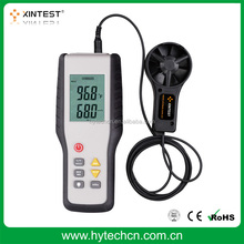 HT-9819 Large LCD display velocity vane anemometer with factory price