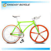 OEM Manufacturer wholesale chrome molybdenum steel frame 700C fixie gear road bike