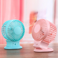 china hot sale cheap price table office noiseless battery operated mini usb rechargeable fan