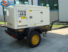 40kw genset manufacture trailer mounted generator three phase 50hz