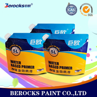 water based latex paint/washable interior wall paint for toilet/kitchen