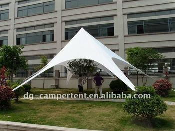 dye sublimation star tent, outdoor star shade tent for promotion