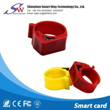 special request rfid animal products 134.2khz rfid chicken tags RFID foot ring