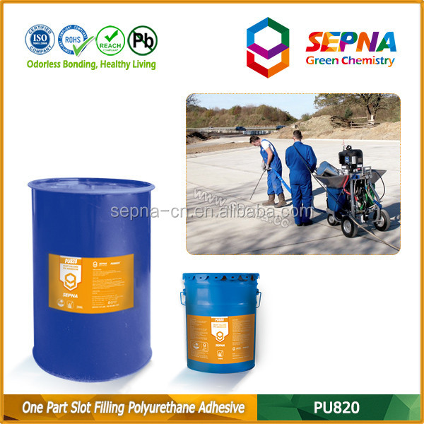Concrete Floor and Slab Crack Repair Joint Adhesive ,PU Sealant