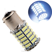 12v Car Led Tail Light Bulb 1156 BA15S Led Stop Light Lamp 1206 127smd 1210 127led motorcycle turn signal lights