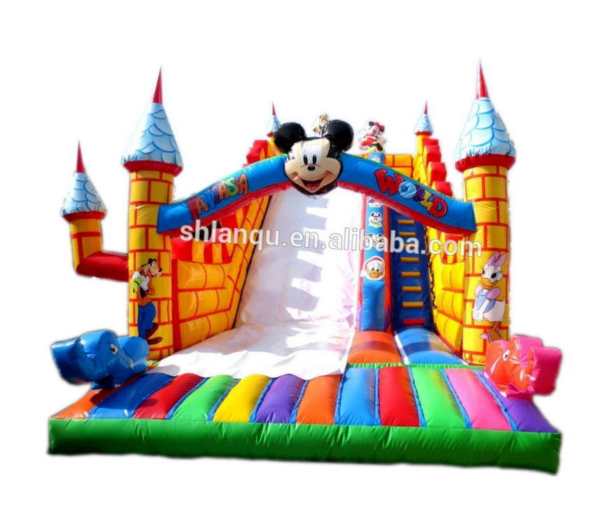 Lanqu commercial inflatable water slide sale craigslist nc inflatable slide
