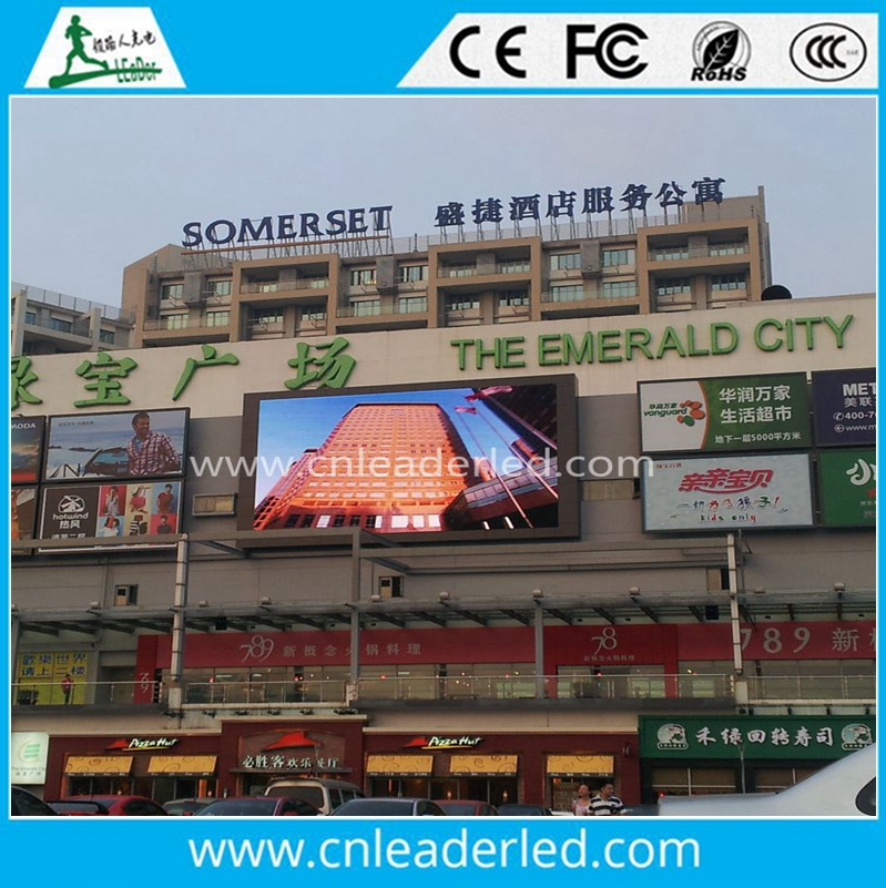 Hot sale led commercial advertising display screen p6 p8 p10 p16 in alibaba