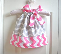 New model newborn baby dress chevron pillowcase girls dresses toddler pageant dresses wholesale