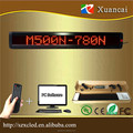 M500N-780R led moving message display sign running text board
