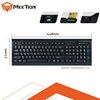 Usb Professional Full Size Landing Contact Smart Card Keyboard