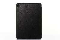 matte relief flip leather wallet case for ipad pro 9.7