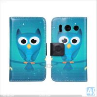 Hot Selling Wallet PU Leather Flip Cover for Huawei Y300 Case P-HWY300CASE002