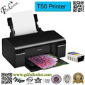 Printing Machine 6 Color PVC / A4 Photo / DVD / ID Card / Inkjet Printer T50