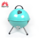 14'' portable kettle BBQ grills football mini charcoal bbq grill with portable bag