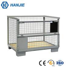 Hanjie factory zinc plating wire mesh folding storage containers