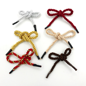 High quality double nylon braided 3 strands twisted handle rope for paper bag