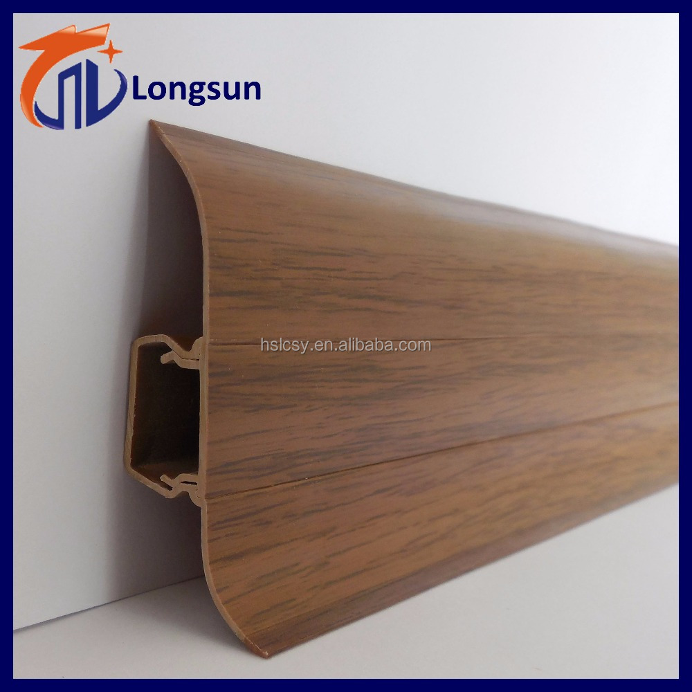china supplier imitation wood grain flooring trim pvc. Black Bedroom Furniture Sets. Home Design Ideas