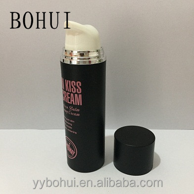 wholesale airless bottle round shoulder PP cosmetic lotion container plastic bottle 50 ml