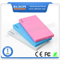 CE ROHS FCC Certificate Slim Powerbank 10000Mah, Mobile Powerbank 2016, Mini Powerbank 10000Mah