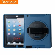 Personalized 360 Degree Rotating hand strap case for ipad 4