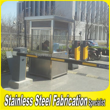 Outdoor Steady Stainless Steel Sentry Box Prefabricated House