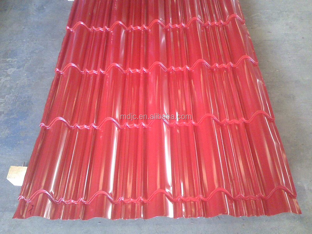Corrugated Steel Roofing Sheet Glazed Roofing Panel