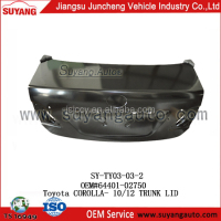 High quality Suyang Toyota Corolla Accessories Car Body Parts tailgate