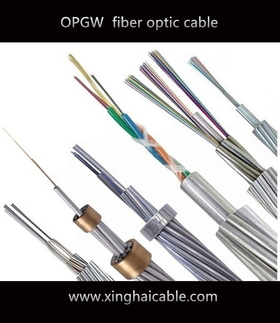 24 core stainless steel single mode OPGW -114 optical fiber cable