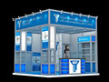 shanghai booth factory provide small trade show display system and provide free exhibition design