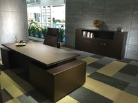 Modern executive desk manager office desk with side cabinets(SBD-series)