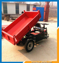 Large Wholesales mining dump truck cargo tricycle with cabin