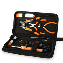 Factory sale complete master hand tool box set with welding tool for uav helicopter repairing