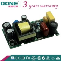 DC20-43V Constant Current 12W 300ma High PF Open Frame Circuit Board LED Power Supply