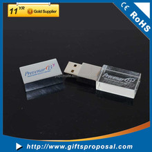 Top selling cheapest crystal usb flash drive with life warranty
