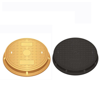 High polymer round manhole cover for sale