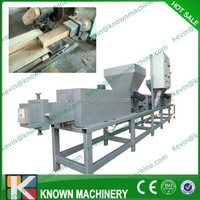 Hot pressed wood sawdust square briquette making machine / wood square briquette pressing machine