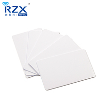 CR80 30Mil Printable Blank White PET Plastic <strong>Card</strong> for Thermal Printer