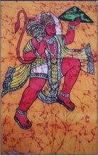 25 India Art Ethnic Hindu Gods Batik Paintings Wholesale Lot