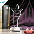 Custom Blank Star Design Acrylic Awards For Souvenir