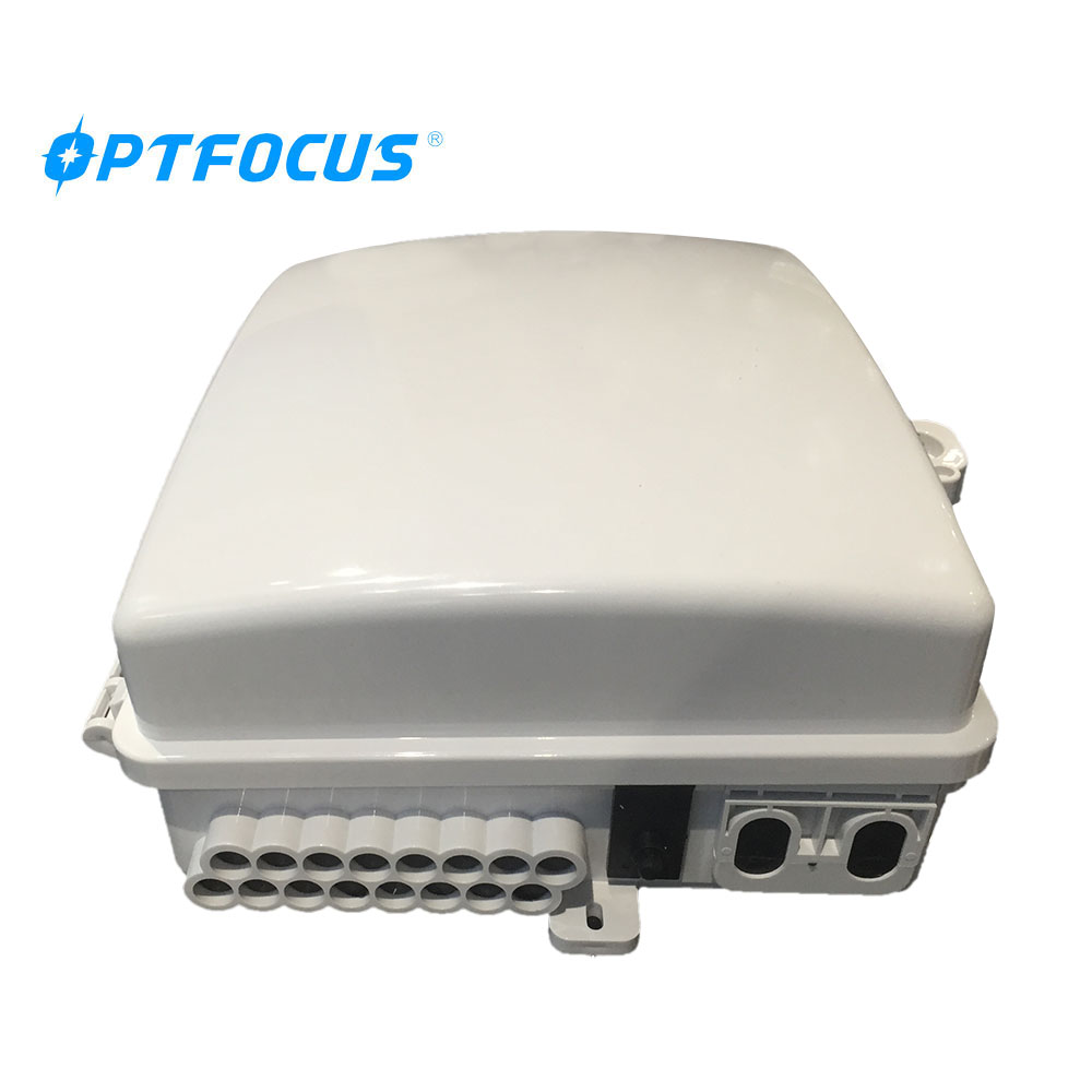 16 ports White Color Outdoor Fiber Termination Box FTTx Access <strong>Network</strong>