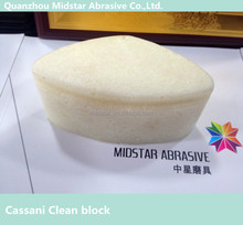 Europe standard cassani abrasive for the cleaning of special stone