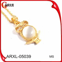 Crystal avenue wholesale jewelry necklace real pearl necklace price owl necklace