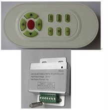 RF controller for brightness and CT adjusting;DC12V input;used for led strip