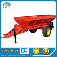 Farm equipment chicken cow manure spreader fertilizer spreader
