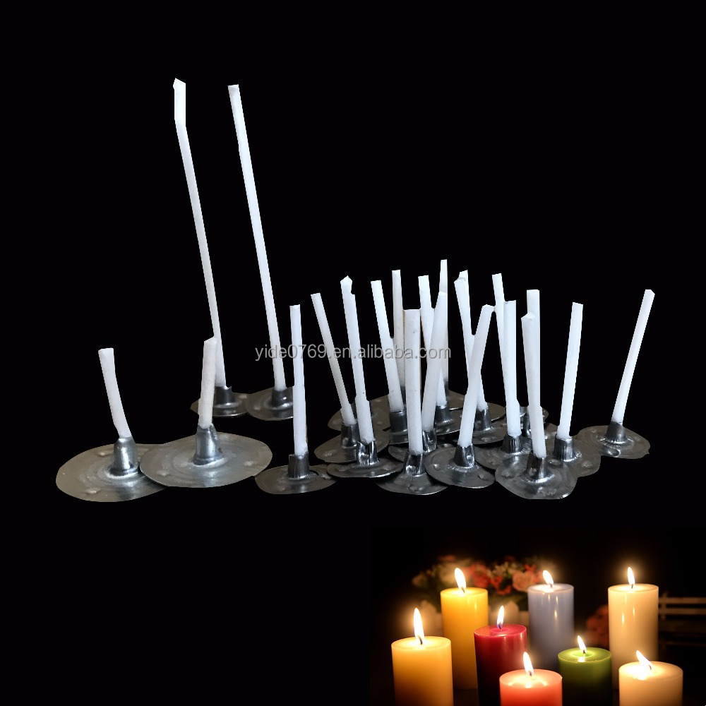 Metal Wick Sustainers & Wick Tabs & Wick Clips for Tea Light Candles