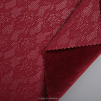 Wholesale garment material embossed pu item leather fabric for clothing